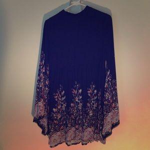 Bohemian Mini Dress like For Love and Lemons